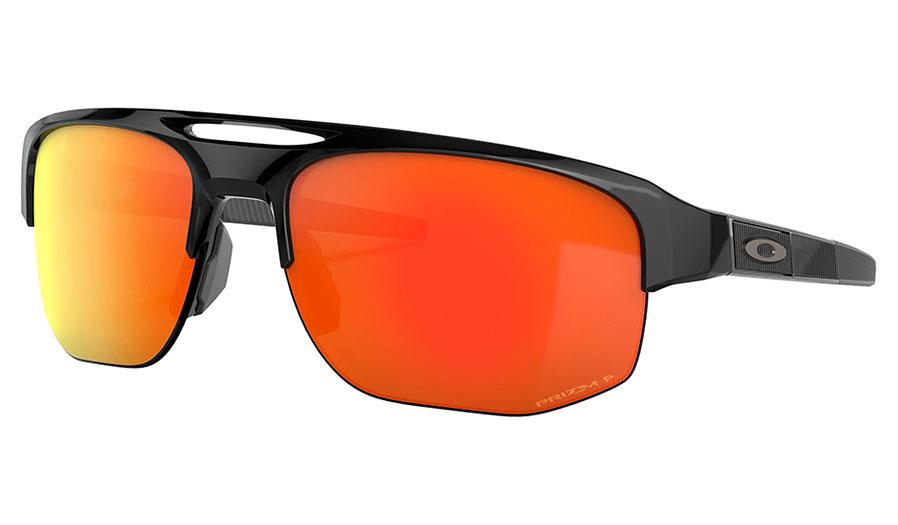 Oakley Mercenary Sunglasses - Polished Black / Prizm Ruby Polarised