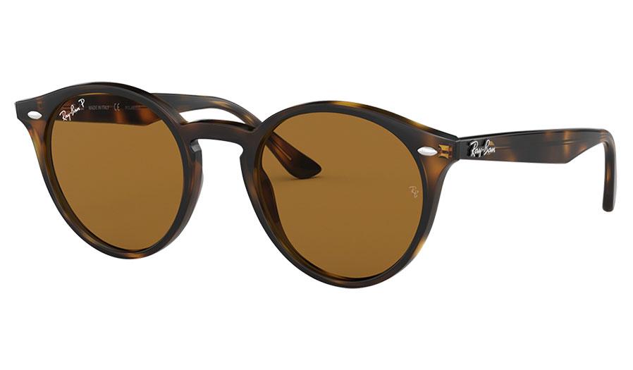 Ray-Ban RB2180 Sunglasses - Tortoise / Brown Polarised