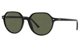 Ray-Ban RB2195 Thalia Sunglasses - Black / Green