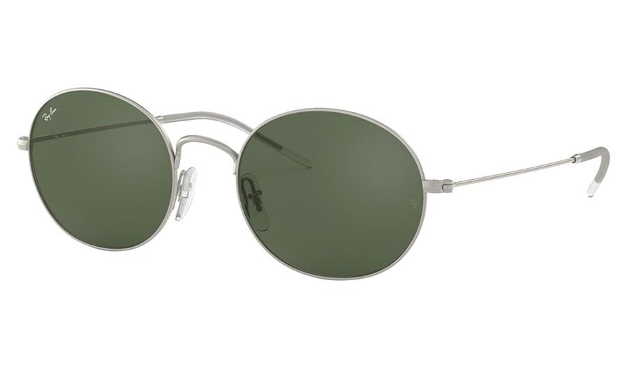 Ray-Ban RB3594 Beat Sunglasses - Silver / Green