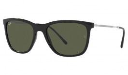 Ray-Ban RB4344 Sunglasses - Black / Green