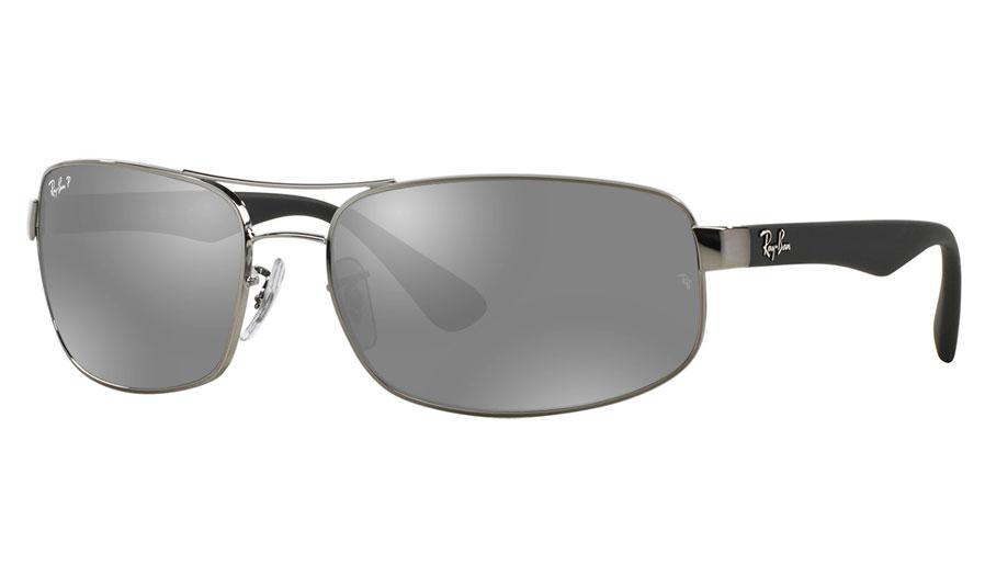 28f1a2d33f Ray-Ban RB3445 Prescription Sunglasses - Gunmetal - RxSport