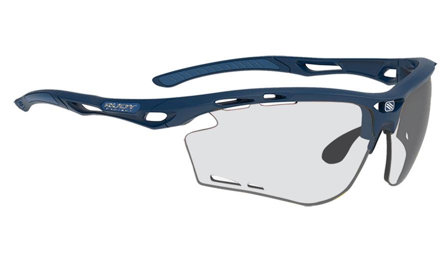 Rudy Project Propulse Prescription Sunglasses - ImpactRX Directly Glazed - Matte Navy Blue