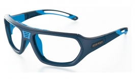 VerSport Troy Prescription Glasses - Matte Blue & Blue