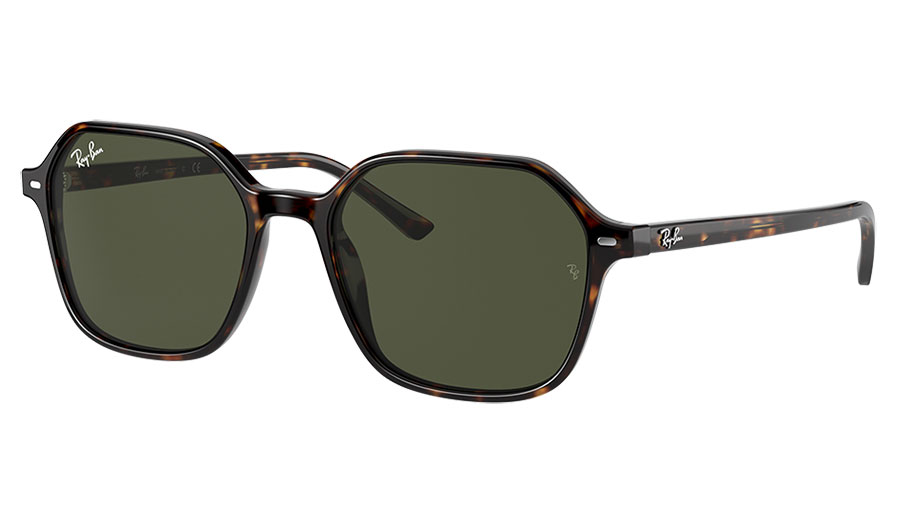 Ray-Ban RB2194 John Sunglasses - Havana / Green