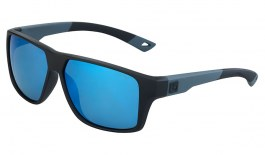 Bolle Brecken Floatable Sunglasses - Black Grey / Offshore Blue HD Polarised
