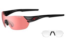 Tifosi Slice Prescription Sunglasses - Crystal Black / Enliven Bike
