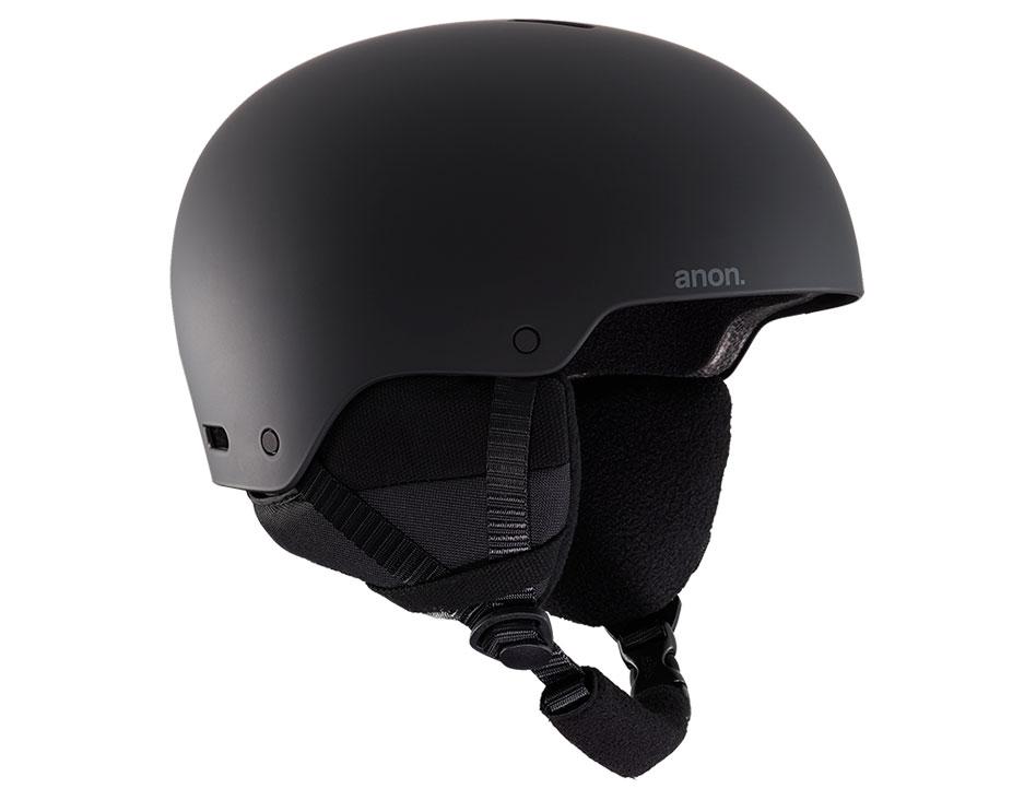 Anon Raider 3 Ski Helmet - Black