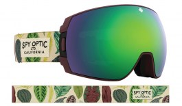 Spy Optic Legacy SE Ski Goggles - Botanical / HD+ Bronze with Green Spectra + HD+ Low Light Persimmon Silver Spectra