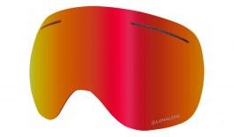 Dragon X1 Ski Goggles Lens - Lumalens Red Ion