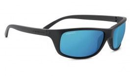 Serengeti Bormio Sunglasses - Satin Black / 555nm Blue Polarised Photochromic