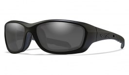Wiley X Gravity Sunglasses - Matte Black / Captivate Smoke Grey Polarised