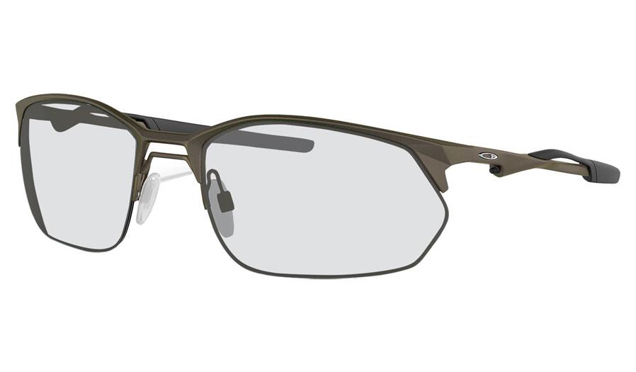 Oakley Wire Tap 2.0 Prescription Sunglasses - Satin Lead
