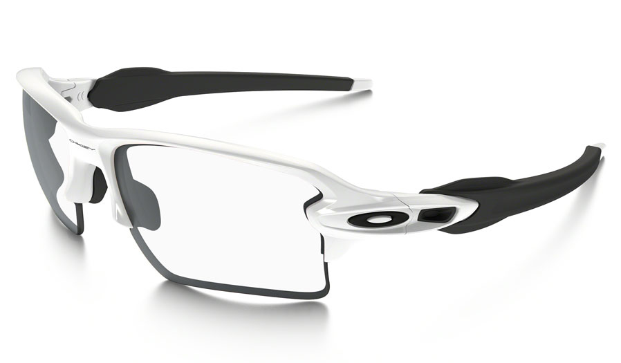 Oakley Flak 2.0 XL Prescription Sunglasses - Polished White