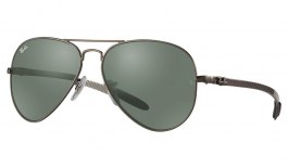 Ray-Ban RB8317CH Prescription Sunglasses - Gunmetal