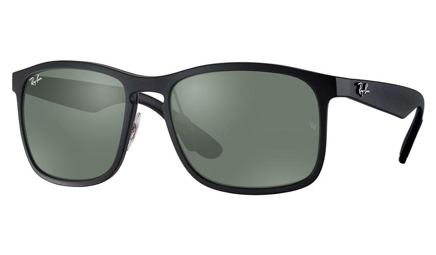 64ad31fb75 Ray-Ban RB4264 Prescription Sunglasses - Black - RxSport