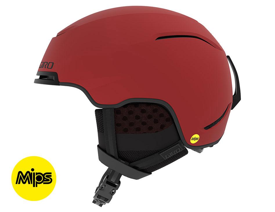 Giro Jackson MIPS Ski Helmet - Matte Dark Red & Midnight Sierra