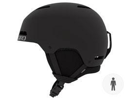 Giro Ledge Ski Helmet - Matte Black