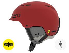 Giro Trig MIPS Ski Helmet - Matte Dark Red