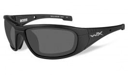 Wiley X Boss Prescription Sunglasses - Matte Black