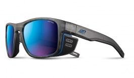 Julbo Shield M Sunglasses - Translucent Grey & Blue / Spectron 3 CF Blue
