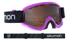 Salomon Juke Ski Goggles - Pink / Universal Tonic Orange