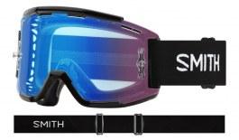 Smith Squad MTB Goggles - Black / ChromaPop Contrast Rose Flash + Clear