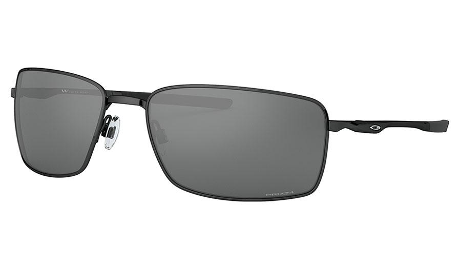 Oakley Square Wire Sunglasses - Polished Black / Prizm Black