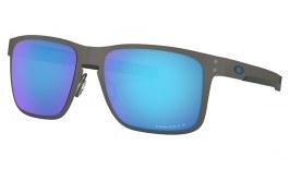 Oakley Holbrook Metal Sunglasses - Matte Gunmetal / Prizm Sapphire Polarised