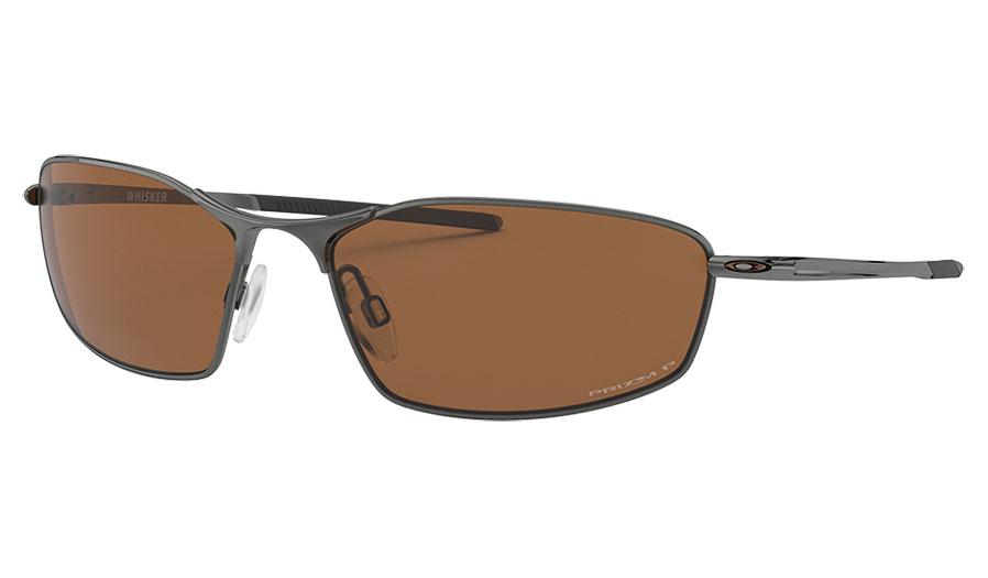 Oakley Whisker Sunglasses - Tungsten / Prizm Tungsten Polarised