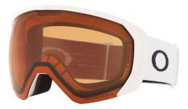 Oakley Flight Path XL Prescription Ski Goggles - Matte White / Prizm Persimmon