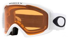 Oakley O Frame 2.0 Pro XL Ski Goggles - Matte White / Persimmon + Dark Grey