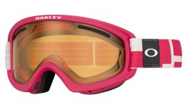 Oakley O Frame 2.0 Pro XS Ski Goggles - Iconography Strong Red / Persimmon + Dark Grey
