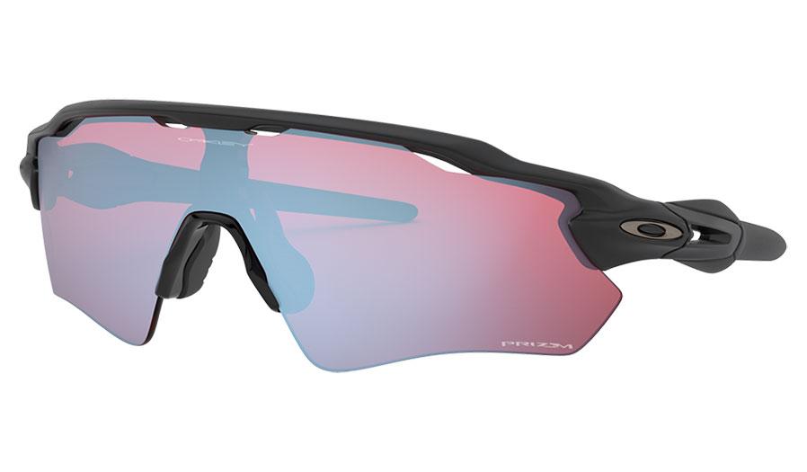 Oakley Radar EV Path Sunglasses - Matte Black / Prizm Snow Sapphire