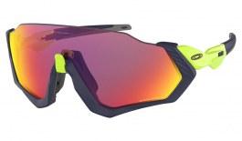 Oakley Flight Jacket Sunglasses - Matte Navy & Retina Burn / Prizm Road