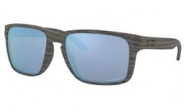 Oakley Holbrook XL Sunglasses - Woodgrain / Prizm Deep Water Polarised