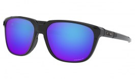 Oakley Anorak Sunglasses - Polished Black / Prizm Sapphire Polarised