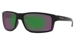 Oakley Gibston Sunglasses - Matte Black / Prizm Jade