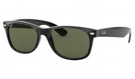 Ray-Ban RB2132 New Wayfarer Sunglasses - Black / G-15 Green