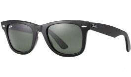 Ray-Ban RB2140 Original Wayfarer Sunglasses - Black / Green (G-15)
