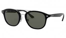 Ray-Ban RB2183 Sunglasses - Black / Green