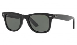 Ray-Ban RB4340 Wayfarer Ease Sunglasses - Black / Green