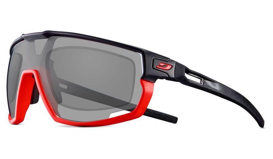 Julbo Rush Prescription Sunglasses - Matte Fluo Orange & Black
