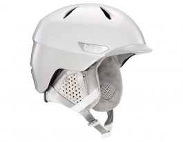 Bern Weston Peak Ski Helmet - Satin White Two-Tone