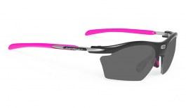 Rudy Project Rydon Slim Prescription Sunglasses - ImpactRX Directly Glazed - Black Gloss