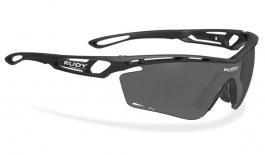 Rudy Project Tralyx Prescription Sunglasses - Clip-On Insert - Matte Black / Smoke Black