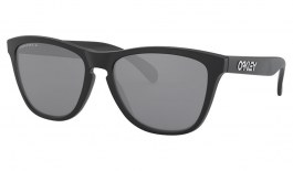 Oakley Frogskins Sunglasses - Matte Black / Prizm Black Polarised