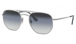 Ray-Ban RB3609 Sunglasses - Silver / Blue Gradient Silver Mirror