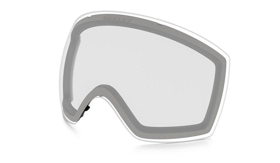 Oakley Flight Deck XM Ski Goggles Replacement Lens Kit - Clear