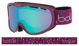 Bolle Sierra Ski Goggles - Shiny Cherry & Mint / Aurora